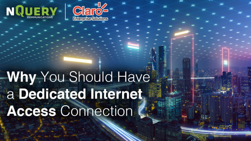 , Why You Should Have a Dedicated Internet Access Connection Combined with Security for Your Business